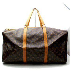 Auth Louis Vuitton Sac Souple 55 Travel #4090L22